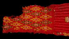 Pre-Columbian Peru Woven Textile Fragment
