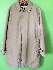 L L Bean Trench Coat Rain Coat Mens XL Khaki Signature Line
