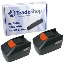 2x AKKU 14,4V 4000mAh für Fein MultiMaster QuickStart ASM 14-9 ASW 14-30-PC