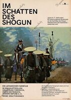 DDR Progress Filmplakat A3 Im Schatten des Shogun 1984