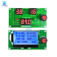 Digital LED LCD Spot Welder Machine Time Control Module Pulse Encoder 40A/100A