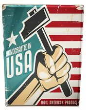 Tin Sign XXL Retro  Handcrafted USA