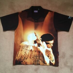 Jimi Hendrix Shirt Size XL. By Dragonfly