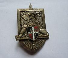 INSIGNE 51ème RI Régiment d'Infanterie Drago G1138 embouti