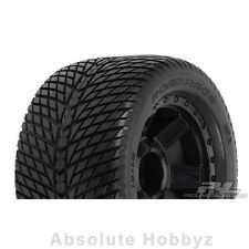 "Pro-Line Road Rage 3.8 Tire w/Desperado 17mm 1/2"" Offset MT Wheel (Black) (2)"