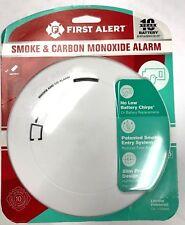 FIRST ALERT SMOKE CARBON MONOXIDE ALARM 10 YR BATTERY WARRANTY NEW!!