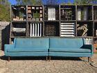 Vintage 2pc Wingback Sectional Sofa 60's Mid Century Modern Paul McCobb Era