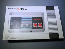 Nintendo 3DS XL Retro Silver NES Edition Handheld Console Brand New MINT