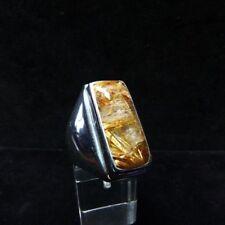 Ring Gr. 62 Silber 925 mit Rutilquarz