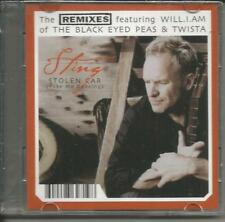 The Police STING Stolen Car Europe REMIXES MINI 3 INCH CD single CD3 USA Seller