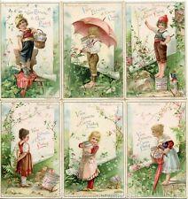 Chromo Liebig Sang. 413 ITA Mondo dei Piccini ANNO 1894