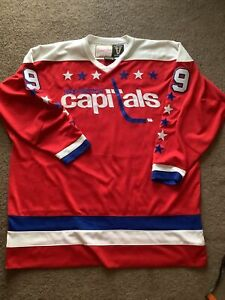 Mitchell and Ness Vintage authentic 1977  1978 Capitals jersey