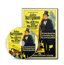 Dr. Jekyll and Mr. Hyde (1920) John Barrymore Horror, Sci-Fi Film / Movie on DVD