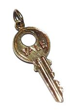 9ct Yellow Gold Fancy 'YALE KEY' Charm/Pendant