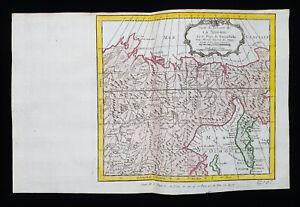 1754 J.N. BELLIN: NORTH SEA, SIBERIA, ARTIC OCEAN, RUSSIA, KAMCHATKA PENINSULA..