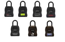 Realtor Branded Large Heavy Duty Key Storage Combination Lock Box, Choose Brand