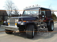 JEEP WRANGLER YJ FENDER FLARES / WHEEL ARCH EXTENSIONS
