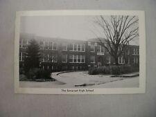VINTAGE POSTCARD OF THE SOMERSET HIGH SCHOOL IN SOMERSET, PENNSYLVANIA UNUSED