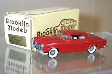 BROOKLIN MODELS BRK 19 1955 Chrysler 300 C C300 Coupe Red Boxed mq