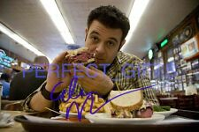 ADAM RICHMAN MAN V FOOD SIGNED 10x8 REPRO PHOTO