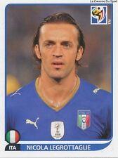 N°417 NICOLA LEGROTTAGLIE # ITALIA STICKER PANINI WORLD CUP SOUTH AFRICA 2010
