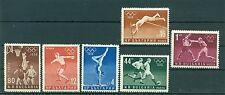 Bulgaria - Bulgarien 1956 - Mi.996/1001 - Summer Olympic Games - Melbourne