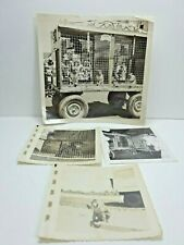 Rare Vintages Circus Monkey In Wagons For The 50's Photos Black And White (cc)
