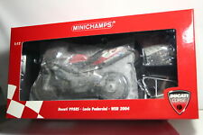 Minichamps 122 040219 DUCATI 998rs Lucio Pedercini WSB 2004 1:12 OVP