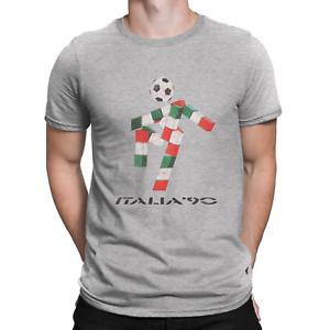 Italia 90 Italy Herren Mens Organic Cotton T-Shirt classic FOOTBALL World Cup