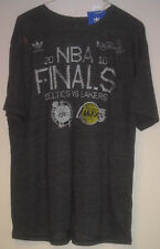 Adidas 2010 Finals Los Angeles Lakers vs Boston Celtics  T-Shirt   Size XL