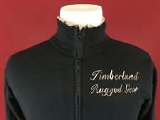 Timberland 10061 Rugged Gear Mens Full Zip Rough Cut Style Sweatshirt size Med