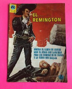 Mexican vintage Comic El Remington  No. 1  Nov 24th 1969