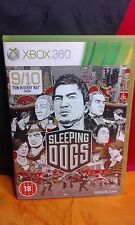 Sleeping Dogs - Xbox 360 - VGC - Includes Manual