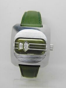 Watch Time Jumping Jump Hour Digital 35 MM Ca Hs 238 To 1970 Our