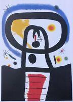 Joan Miro: Equinoxe - Litografía Numerada Y Firmada, 500 Edición