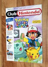 Club Nintendo Magazin Ausgabe Heft 1/01 Banjo-Tooie Mario Tennis / mit Poster .