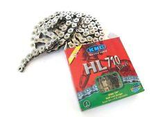 """KMC HL710 Silver Single-Speed Half Link Bike Chain 1/2"""" x 1/8"""" BMX Track / Fixie"""