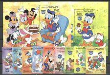 Walt Disney, Donald - Togo - 1752-1760, Bl.240-241 ** MNH 1984