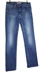 Levis Levi's 714 Damen Straigt Jeans Hose W30 L32 stretch Gerade Denim Blue D879