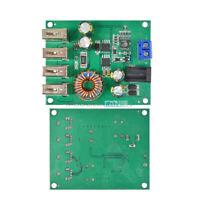 7-60V To 5V 5A DC-DC 4 USB Output Buck Converter Step Down Car Power Supply