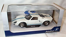 Ford GT40 MK1 Widebody 1968 in White 1/18 - S1803002 SOLIDO