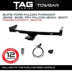 TAG Towbar Fits Ford Falcon Fairmont 2002-2016 FPV Falcon 2004-2007 4x4 Exterior