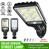 LED Solar Lights PIR Motion Sensor Waterproof Outdoor Garden Yard Wall Lamp