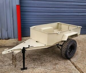 Off Road Expedition Trailer for your Jeep Truck or SUV Military m416 style
