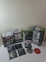 Lot of 80 PS2, PS3, Xbox 360, Gamecube Games! Plus Wii Netflix Disc Bundle!