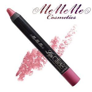 MeMeMe English Rose MATTE-VELVET LIP GLIDE Thick Pencil Pink Lipstick Crayon