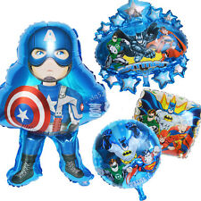 4pcs Avengers Marvel Super Heroes Helium Foil Balloons Decoration ​Party Supply