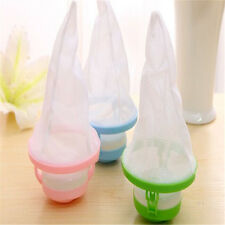 Hot Mesh Filter Bag Floating Washing Machine Wool Hair Removal Cleaning Device