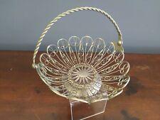 1980 Moskva wire weaving bowl Souvenir