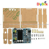 TPA3116D2 120Wx2 Digital Bluetooth 4.0 Audio Receiver Amplifier Acrylic Case DIY